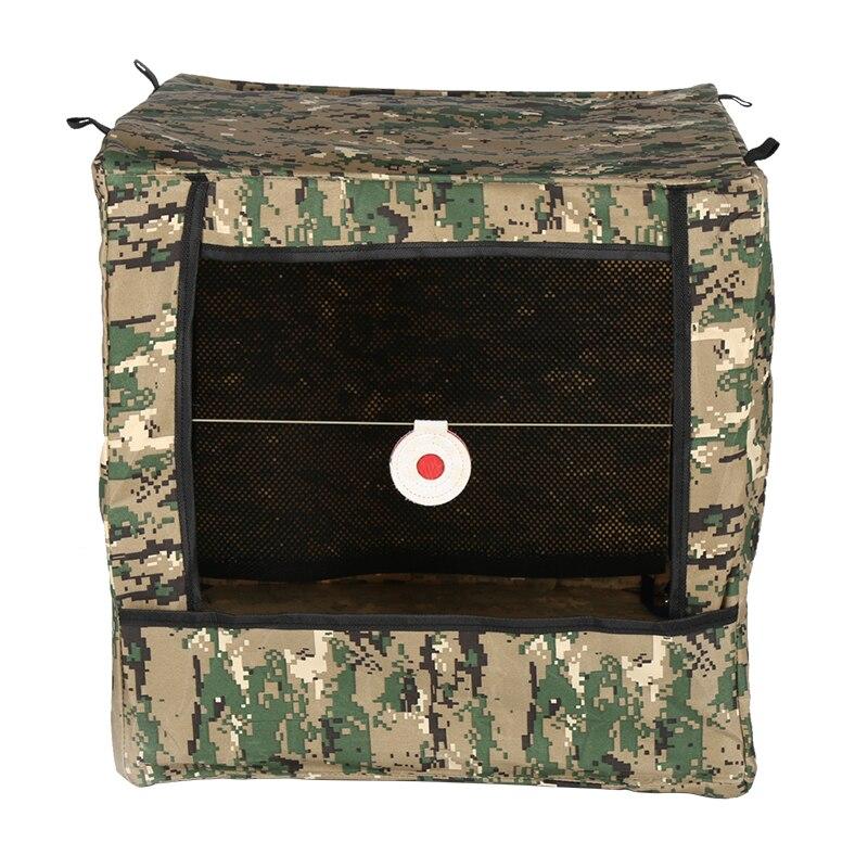 Slingshot Training Novice Target Box Double-layer Enhanced Noise Cloth Practice Target Folding Target Box Paintballs