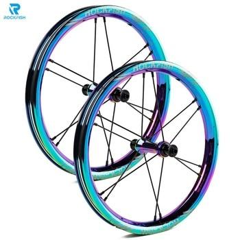 メバル 14 インチ子供の自転車のホイールリムバランスアルミ合金メッキホイールセット pushbike ホイール kokua スライディング自転車ホイールセット|自転車の車輪|スポーツ & エンターテイメント -