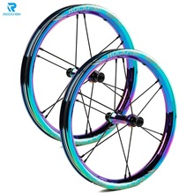 Plating-Wheel-Set Bike Rockfish 14inch Wheel-Rim-Balance Aluminium-Alloy Sliding Kokua
