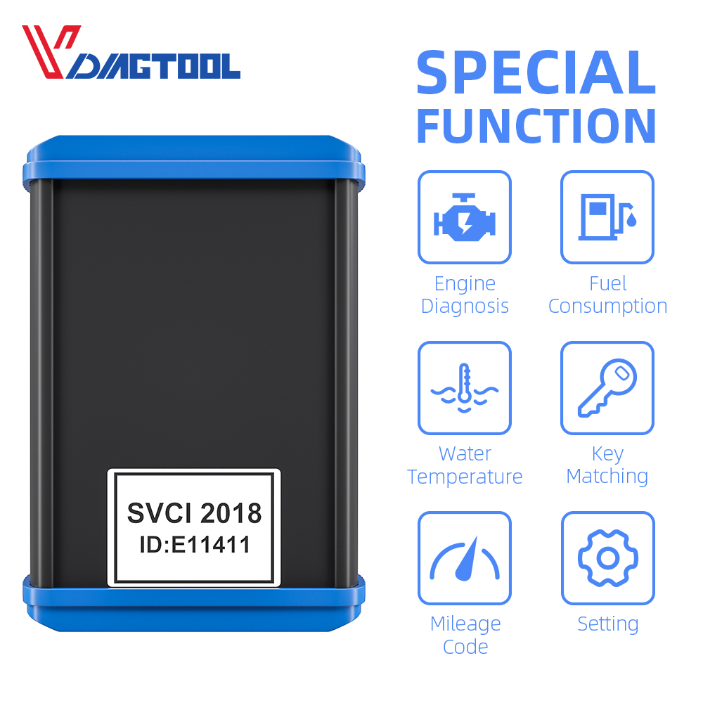 Cars Diagnostic Tool SVCI FVDI 2018 main ABRITES Scanner Covers All Functions Of FVDI 2014 2015