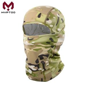 Image 2 - Breathable Motorcycle Balaclava Caps Tactical Military Moto Motocross Head Cover Helmet Liner Hood Biker Face Men Women