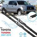 Щетка стеклоочистителя для Toyota Tundra Sequoia 2007 ~ 2019 XK50, стеклоочистители для лобового стекла, автомобильные аксессуары 2008 2009 2010 2011 2012