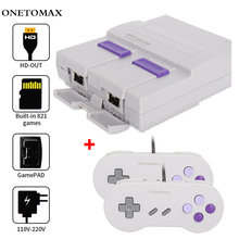 цена на For NES 8 Bit Mini Retro Video Game Console Built-in 821/620 Classic Games Family Video Game Console Handheld Gaming Player Gift