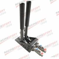 Universal Hydraulic Hand Brake Dual Cylinder Horizontal E Brake Drift