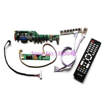 Para N154I2-L01/L02/L03/L04/L05 LVDS 30-Pin TV analógica remoto 1280 * USB 800 + HDMI + VGA + AV 1CCFL controlador con pantalla LCD coche kit