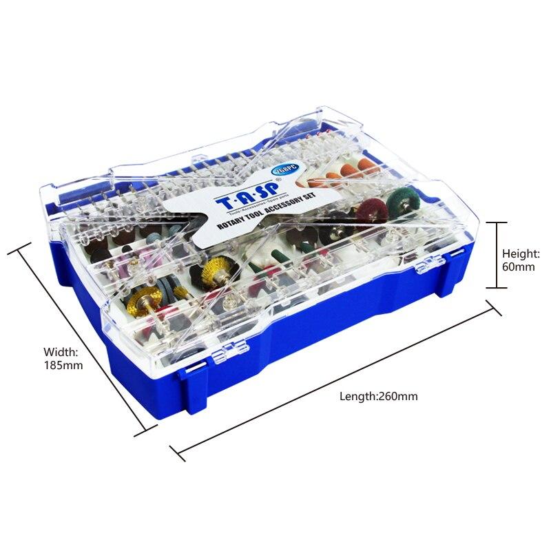 TASP 268db-os elektromos mini fúrószerszám-tartozékkészlet - Elektromos szerszám kiegészítők - Fénykép 3
