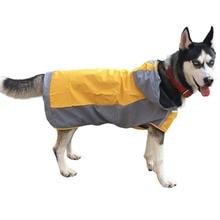 Rain-Coat Dogs-Labrador Reflective French Bulldog Waterproof Large for Big Pets-Clothing