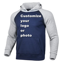 New Custom Hoodies Mens Logo Text Photo 3D Hoodie Men Women Harajuku Streetwear Customized Sweatshirts Pullover Customization