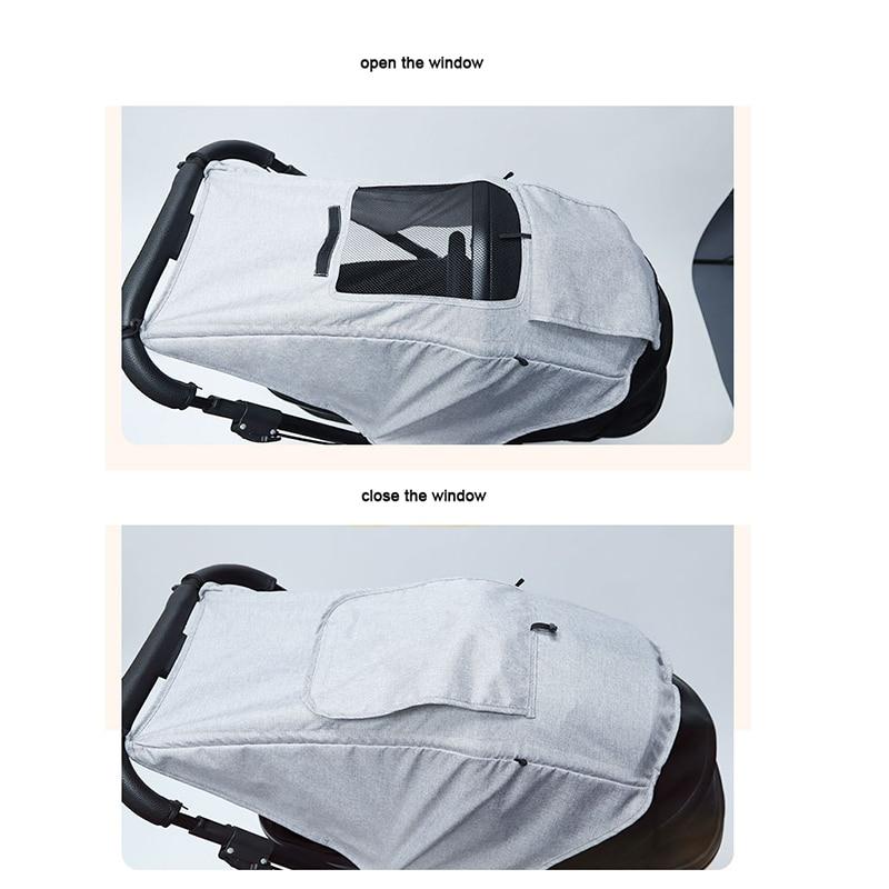 Солнцезащитный коляску, аксессуар для автомобильного сиденья, защита от УФ-лучей, дышащий универсальный чехол для защиты глаз 3