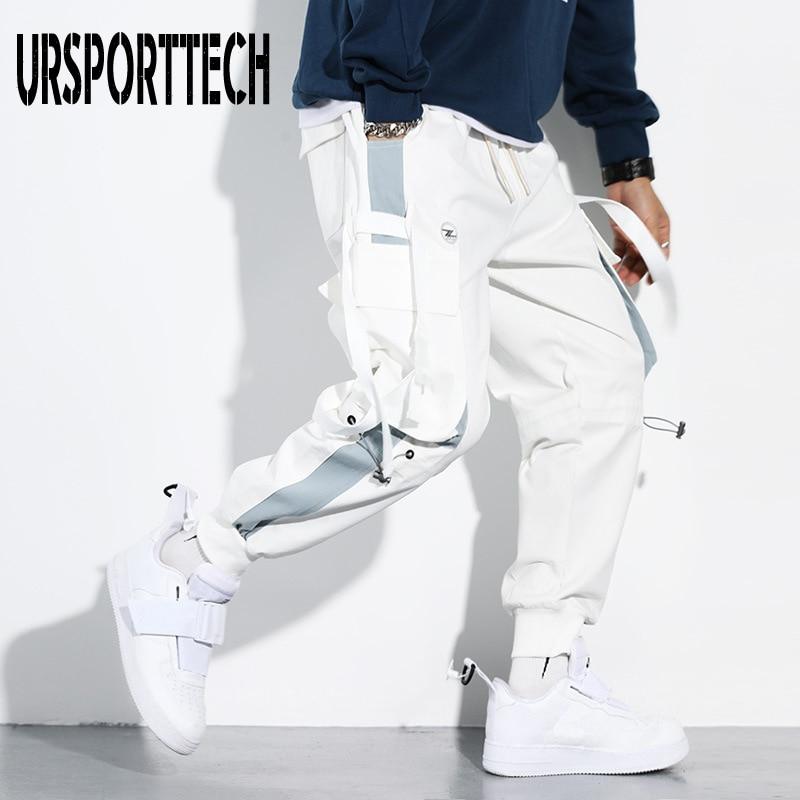 Streetwear Pockets 2020 Men's Jogger Pants Hip Hop Sweatpants Joggers Trousers Tactical Mens Pants Cargo Harem Pants Men Clothes