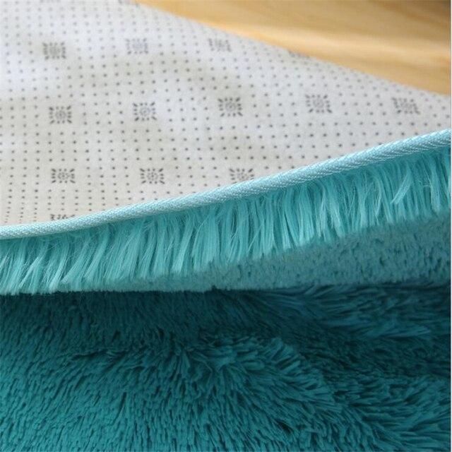 Купить fluffy round rug carpets for living room decor faux fur rugs картинки цена