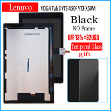 "10.1 ""Inch Lcd Met Touch Voor Lenovo Yoga Tab 3 YT3-X50F YT3-X50 YT3-X50M 10.1 Lcd-scherm + Touch Screen digitizer Glas(China)"