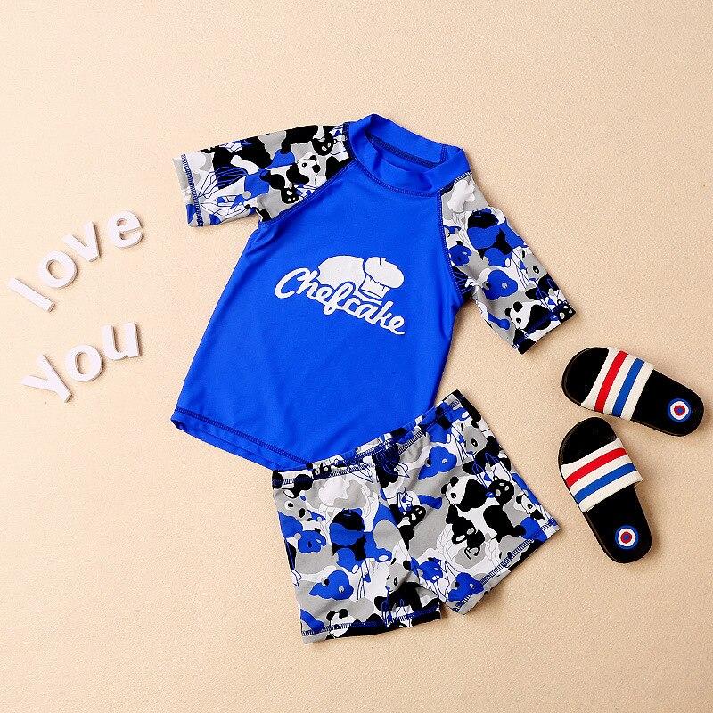 KID'S Swimwear GIRL'S GIRL'S Swimsuit Split Type Big Boy Bathing Suit Female Baby Infant Princess Hot Springs Tour Bathing Suit