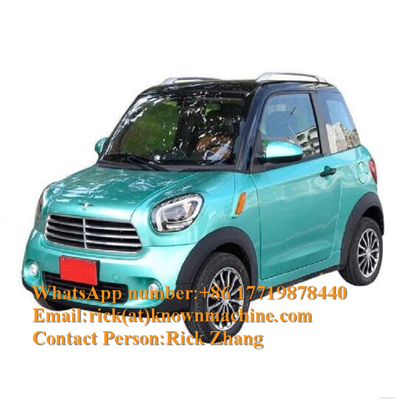 2020 New Style EEC Approval 4 Seat Electric Vehicles / Mini Cars With CE Certification And Free Shipping By Sea To Seaport