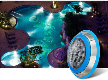New product AC/DC 12V 24V 9W 12W 15W 18W  Cold White/Warm White LED Swimming Pool Lamp Underwater Light Fountain Spotlight Lamp