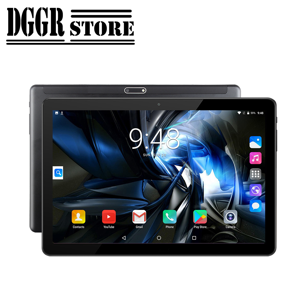 BOBARRY DGGR Tablet Android OS Support Google Play WCDMA 3G Phone SIM Call WiFi 10 Inch IPS Super Tempered Glass Screen Tablet