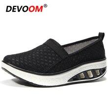 Новинка; женская обувь на платформе; обувь для фитнеса; легкая дышащая Спортивная обувь для похудения; женские кроссовки; 42