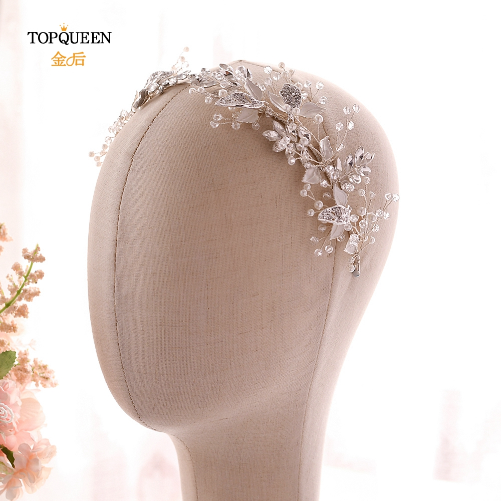 YouLaPan HP272 Sliver Diamond Clips Hair Vines For Wedding  Flower Crown For Bride Hair Barrette Wedding Accessories