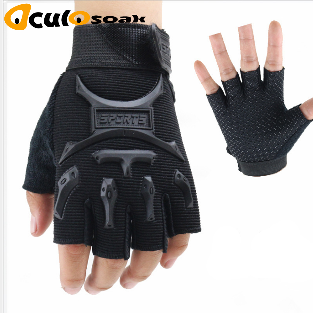2019 Kids Sports Anti-skid Gloves Boys Girls Soft Outdoor Sports Warm Gloves For Children Fishing Hiking Mittens Guante