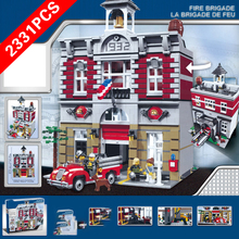 New City Fire Series Fire Department Compatible lepinngly City Fire Series LJ99009 Building Blocks Toys for Kid Birthday Gift машинка pioneer toys fire department 26 цвет красный
