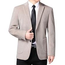 Men Blazer Jacket Costume Wedding-Suit Oversize Male Luxury Masculino Terno Mariage Mink