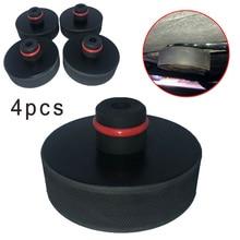4 шт/1 шт. черный для автомобиля, сертификат качества ce и gs подкладка для подъема адаптер инструмент резиновый Материал Аксессуары для автомо...