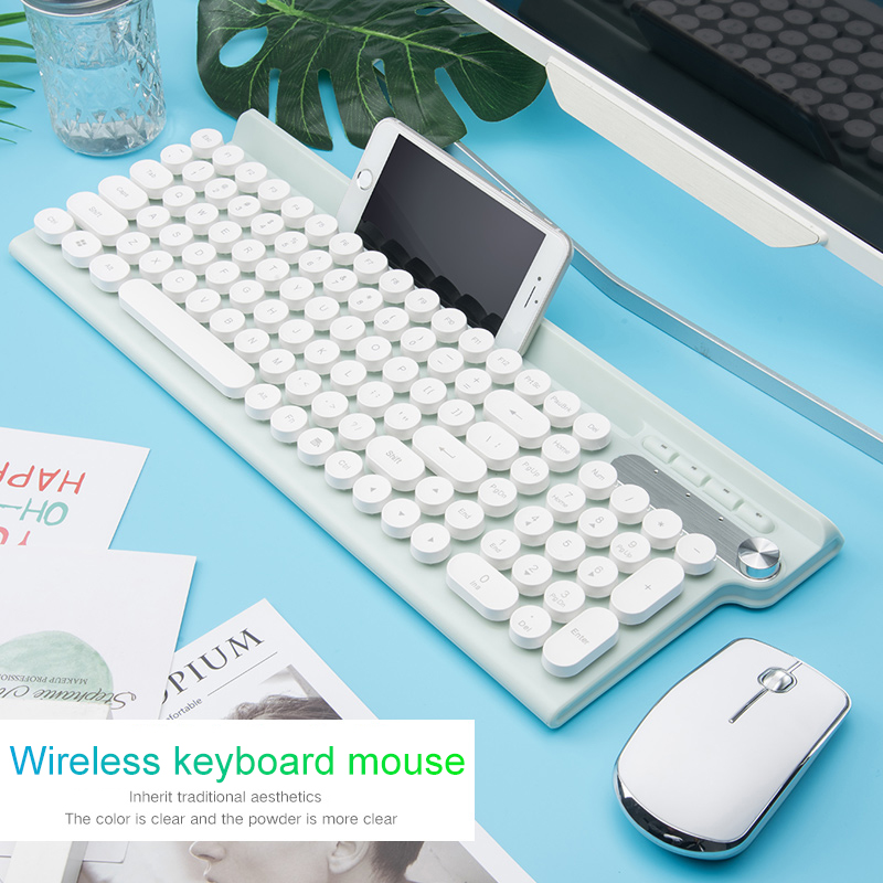 2.4G USB Wireless Keyboard Mouse Rechargeable Keyboard Gaming Mouse For Macbook Lenovo Asus Dell PC Laptop Keypad Computer Mice
