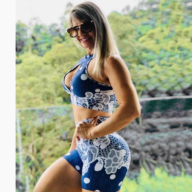 สูงเอวแน่นGym Spandex Leggingsการออกกำลังกายออกกำลังกายสั้นกางเกงขาสั้นผู้หญิงกางเกงขาสั้นการบีบอัดLicras Deportivas Mujer