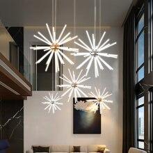 Современная светодиодная люстра lodooo освещение для гостиной
