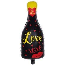 1XChampagne Bottle Glass Foil Balloons Birthday Wedding Party Cartoon Decoration Home Garden Supplies