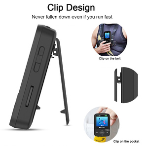 Image 4 - מקורי RUIZU X50 ספורט Bluetooth MP4 נגן 8GB קליפ מיני מוסיקה MP4with מסך תמיכת FM, הקלטה, ספר אלקטרוני, שעון, מד צעדים