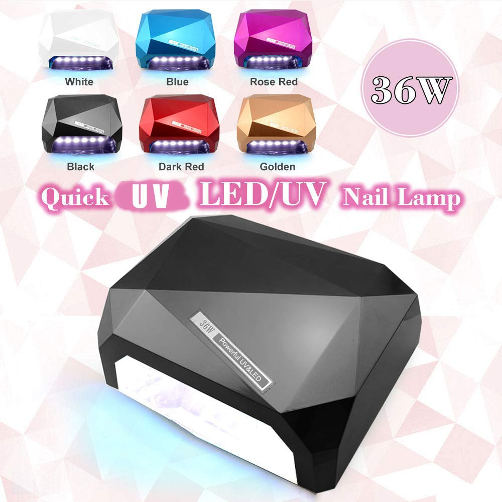 Automatic Sensor  White Light  36W UV Led Lamp Beauty Makeup Cosmetic Nail Dryer Polish Machine For Curing Nail Art Tools