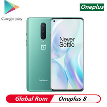 Stock Oneplus 8 5G Smart Phone Android 10.0 6.55″ 3120×1440 90Hz Snapdragon 865 8GB RAM 128GB ROM 30W Charger Android Phone