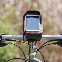 Bike Handlebar Mobile Phone Bag HD Sensitive Touchscreen Wat