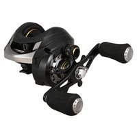 Lixada 12+1 Ball Carp Fishing Bait Casting Reel with 6.3:1 Gear Ratio 13.2LBs Max Drag Bearings Baitcasting Fishing Reel