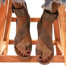 цена на New Women Summer Sandals Flats Casual Women Shoes Ladies Outdoor Flip-flops Shallow Sandals Beach Ladies Plus Size Sandals