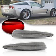 Для chevy corvette c6 2005 2013 прозрачный светодиодный боковой
