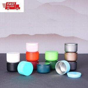 1 шт., водонепроницаемая жестяная коробка для хранения, металлический герметичный контейнер для запаха, алюминиевая банка для заварки чая, к...