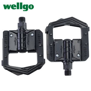 Image 1 - Wellgo F265 F268 Folding Bicycle Pedals MTB Mountain Bike Padel Aluminum Folded Pedal Bicycle Parts
