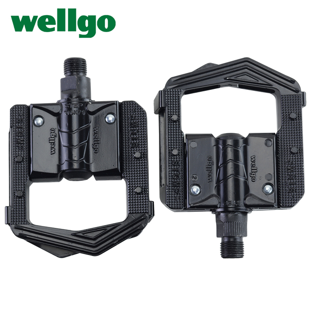 Wellgo F265 F268 Folding Bicycle Pedals MTB Mountain Bike Padel Aluminum Folded Pedal Bicycle Parts