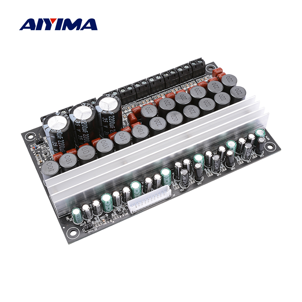 AIYIMA 7.1 TPA3116 Power Amplifier Board 100W 50W Subwoofer Surround Central Speaker Audio Amplifiers Home AMP DC12-24V