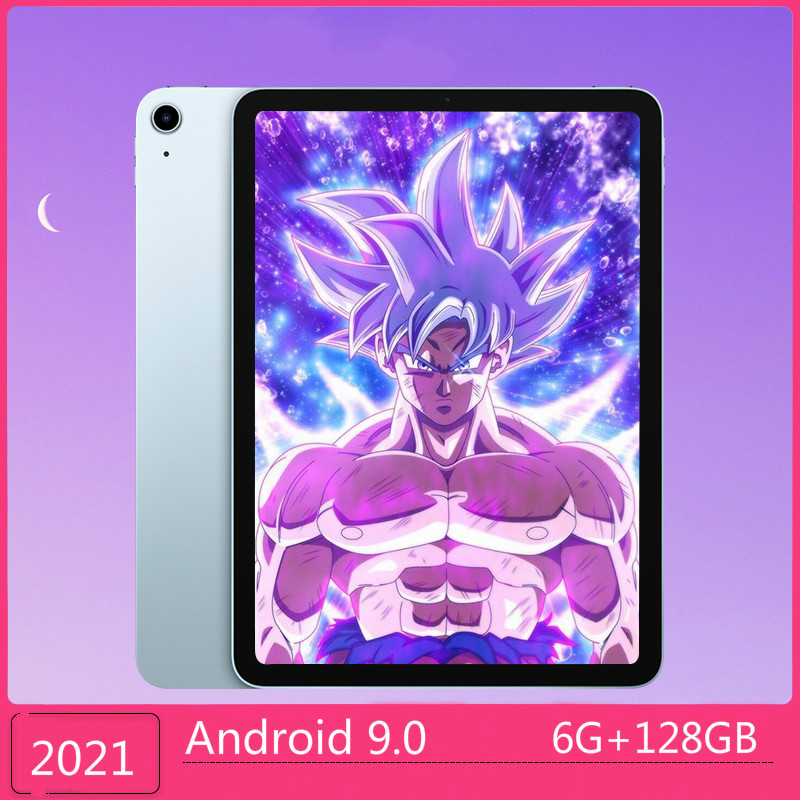 2021 Upgrade WiFi Tablet PC 10.1 Inch Ten Core 4G Network Tablet Android 9.0 Buletooth Call Phone Tablet (RAM 6GB+ROM 128GB)