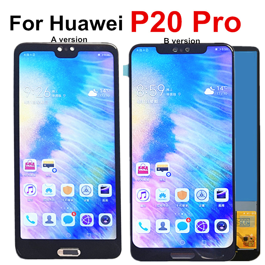 P20 Pro LCD For Huawei P20 Pro LCD Display Touch Screen CLT-L09 L29 AL01 Assembly Digitizer For Huawei P20 Plus Lcd P20Pro