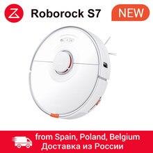 Roborock – aspirateur Robot S7, nettoyage de tapis Ultra sonique, commande via application, nettoyage imbattable