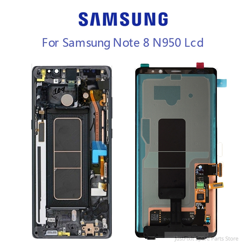 Samsung Galaxy Note8 Note 8 N9500 N950FD N950U Defect Lcd Display Touch Screen Digitizer Assembly 6.3