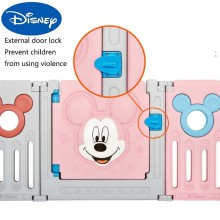 Crawling-Pad Safety Disney Protective-Fence Folding Baby Children's Indoor Home Original