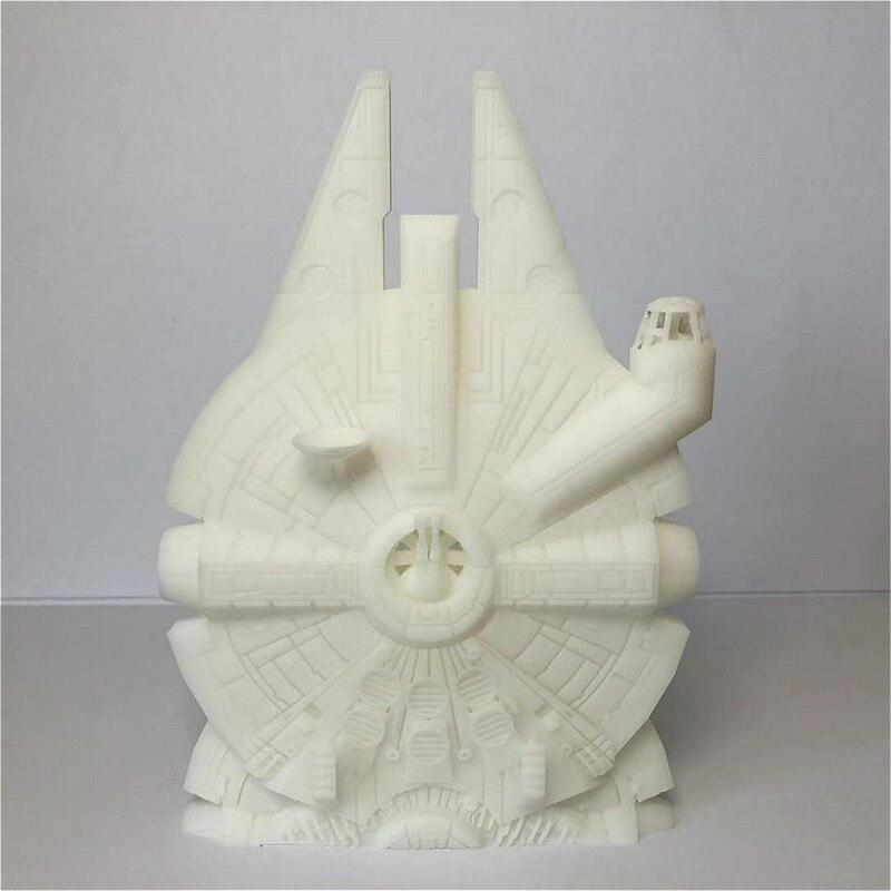 18CM résine Figure modèle Kit Star Wars millénaire faucon Miniature vaisseau spatial modèle statique modélisation assemblage bricolage jouets