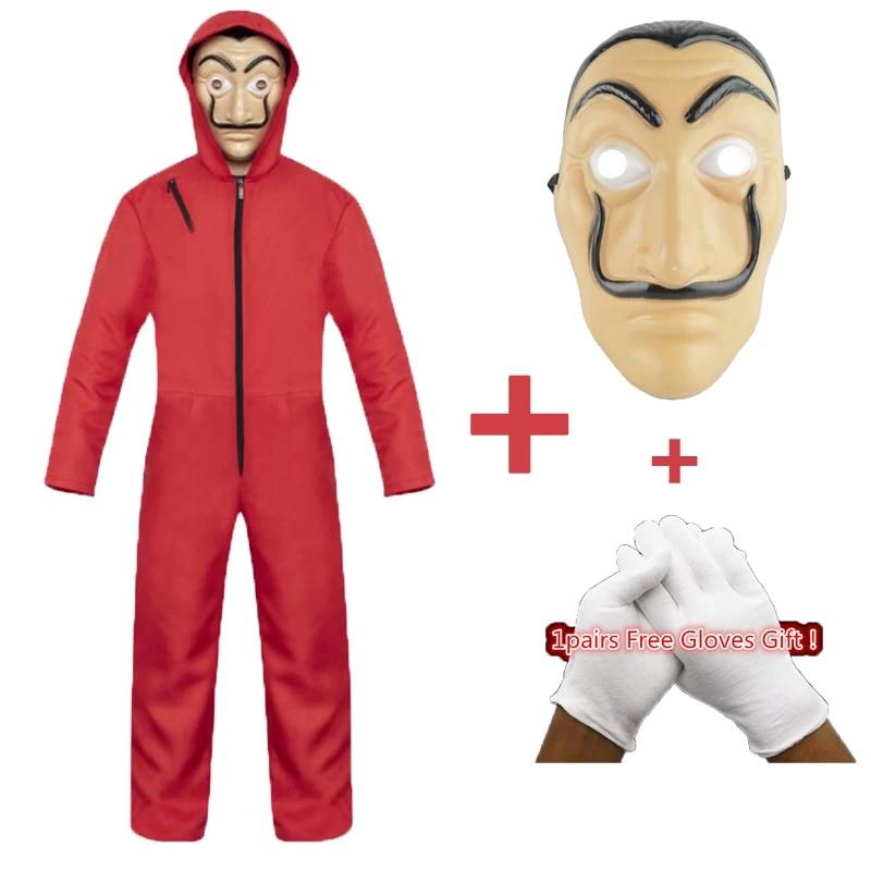 Salvador Dali Movie Costume Money Heist House of Paper La Casa De Papel Cosplay