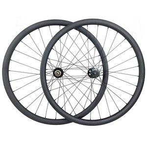 Image 1 - 1300g 650B MTB XC 30 مللي متر الفاصلة لايحتاج عجلات الكربون إطارات دراجة تسلق الجبال خفيفة الوزن الحصى العجلات Novatec محاور 15X100 12X142 9 مللي متر 11s XD XDR 12s