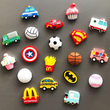 3d мини творческий мультфильм холодильник для пищи смолы автомобиля